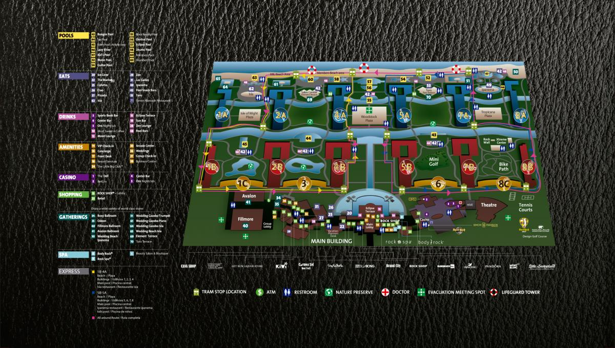 Hard rock hotel casino punta cana map odds of roulette same number twice