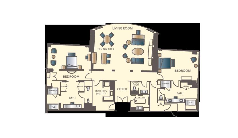 Encore at wynn las vegas rsb travel for Las vegas 2 bedroom apartments