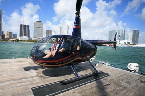 Полет на вертолете над Майами