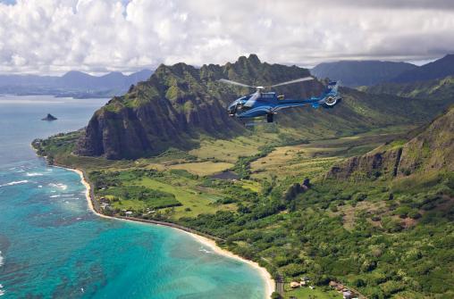 Blue Skies of Oahu - вертолетная экскурсия над Оаху
