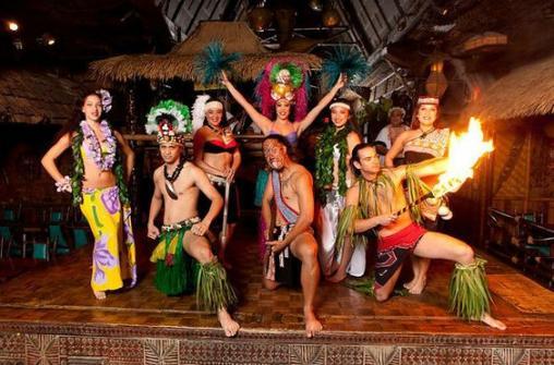 Полинезийское шоу Mai-Kai с ужином