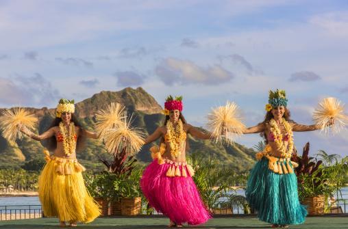 Aha'Aina - развлекательная шоу-программа с ужином в отеле The Royal Hawaiian (Оаху)