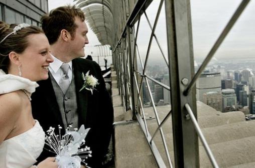 Бракосочетание в Нью-Йорке