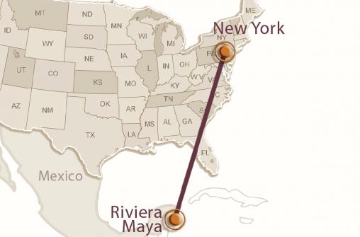 Нью-Йорк и Карибское море