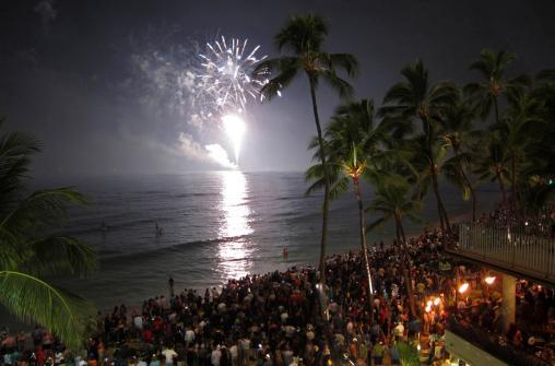 Встреча Нового Года на Гавайских островах 31 декабря 2018 года