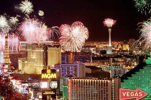 Встреча Нового Года в Лас-Вегасе 31 декабря 2018 года