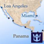 Круизы из Флориды в Калифорнию через Панамский канал Royal Caribbean