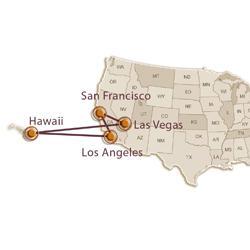 От Калифорнии к Гавайским островам: зима и весна 2018
