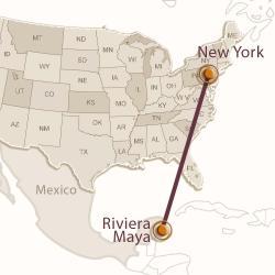 Новый Год: Нью-Йорк — Мексика