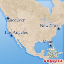 Североамериканские круизы Cunard