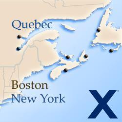 Круизы вдоль северо-восточного побережья США и Канады Celebrity Cruises