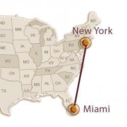 Новый Год: Нью-Йорк — Майами