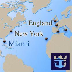 Трансатлантические круизы Royal Caribbean