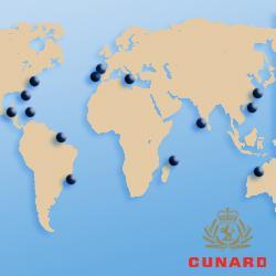 Кругосветные круизы Cunard
