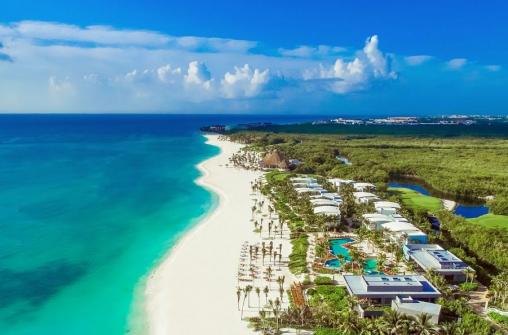 Встреча Нового Года в отеле Andaz Mayakoba Resort Riviera Maya 31 декабря 2021 года