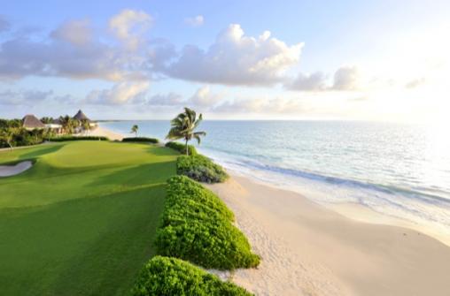 Гольф на островах Карибского моря и курортах Мексики и Коста-Рики