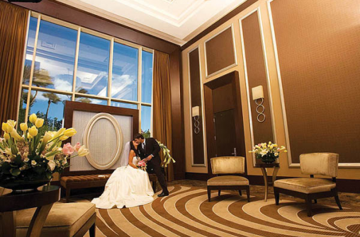 Weddings & Honeymoons in Waldorf Astoria Las Vegas (form. Mandarin LV)