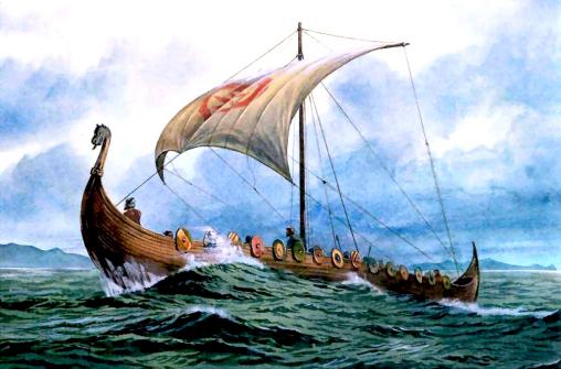 Средневековое покорение Америки: викинги.