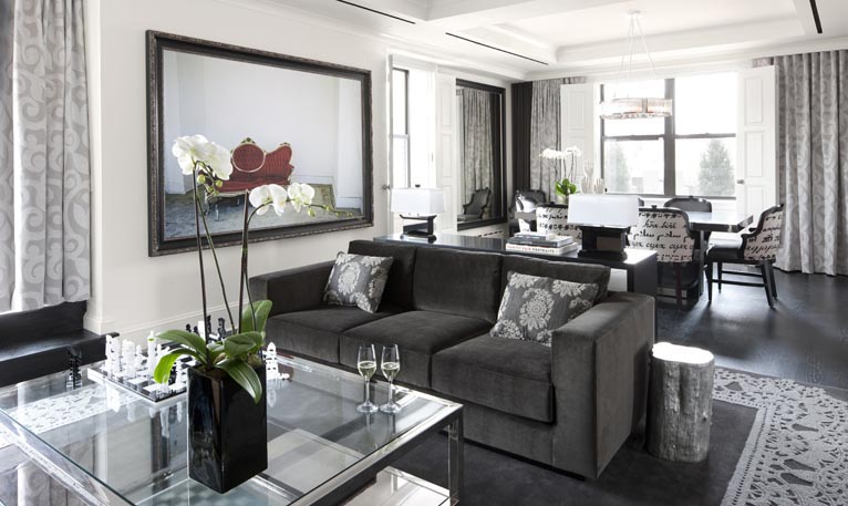 Дизайн комнат с печью