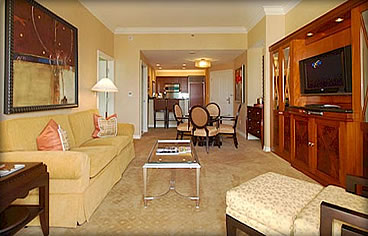 The signature at mgm grand rsb travel - Mgm signature one bedroom balcony suite ...